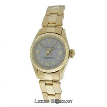 Rolex Vintage Ladies Oyster Perpetual 6618 Automatic Solid 14K