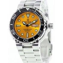 Deep Blue Sun Diver III 1000m Wr Auto Day/date Watch Black...