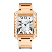 Cartier Tank Francaise Automatic Mens Watch Ref WT100004