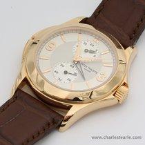 Patek Philippe Pink Gold Calatrava Travel Time Ref.5134R