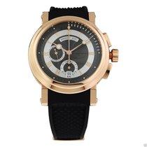 Breguet 5827br/z2/5zu Marine Chronograph 18kt Rose Gold COMPLETE