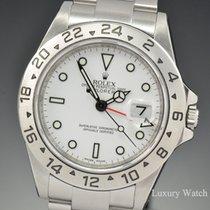 ロレックス (Rolex) Explorer II SEL White Dial 40MM V Ser 16570...
