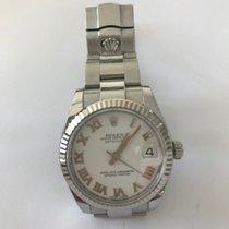 Rolex Lady-Datejust Medium 31, Weißgold Lünette, Oyster...