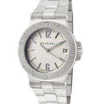 Bulgari DG29S Diagono 29 Quartz in Steel - On Bracelet with...