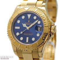 勞力士 (Rolex) Yachtmaster Medium Size Ref-168628 18k Yellow Gold...