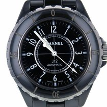 Chanel J12 Black Ceramic Automatic Midsize