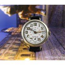 Omega Reloj suizo antiguo militar de trinchera Omega 1916 dial...