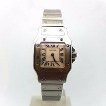 Cartier Santos Galbée Santos Lady 24mm Steel Quartz Watch 1565