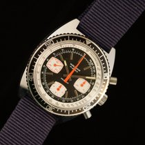 Waltham Chronograph In Steel With Valjoux 7736 Manual Caliber
