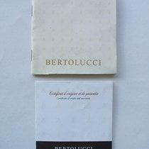 Bertolucci Set libretti e garanzia
