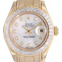 Rolex Ladies Rolex Masterpiece/Pearlmaster Watch 69308