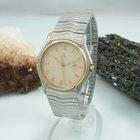 Ebel Classic Wave Herrenuhr Stahl / Gold Saphir Glas Datum
