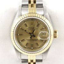 Rolex Lady Datejust LC100 Papiere Stahl Gold Chronometer Jubilee