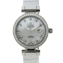 Omega Ladymatic Co-Axial 34 mm MoP Diamonds