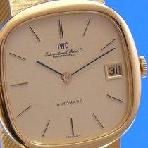 IWC Herren 70er Jahre Automatik Uhr 18K7/50 Gelbgold