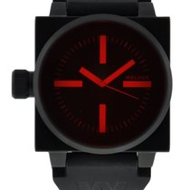 Welder K26 45mm Pvd Steel Case Black Dial Red Crystal On...