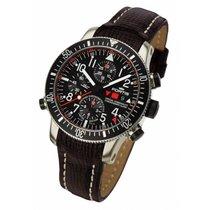Fortis B-42 Official Cosmonauts Chronograph Alarm Titanium...