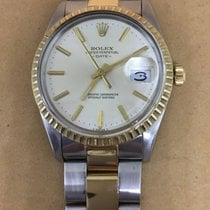 Rolex Oyster Perpetual Date Gold Steel