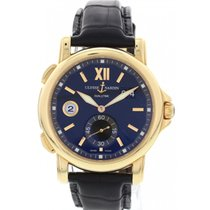 Ulysse Nardin Dual Time 18K Rose Gold Watch 246-55-32