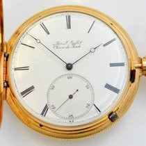 Gallet 18K Gold Heavy Hunter Case, Jules Jurgensen Movement