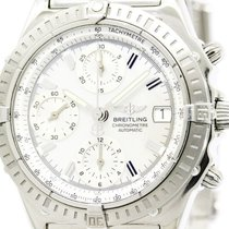 브라이틀링 (Breitling) Polished Breitling Chronomat Steel Automatic...