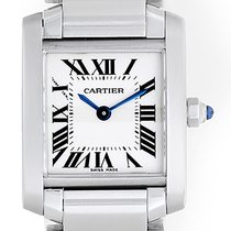 Cartier Tank Francaise Ladies Steel Watch W51008Q3