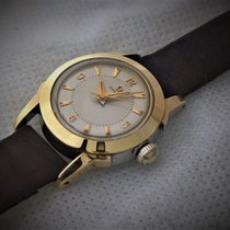 Omega gold / steel ,vintage serviced in ver good working...