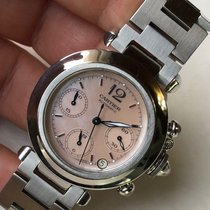 Cartier Pasha C Pink 2412 MOP Dial 35mm Chronograph Automatic