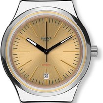 Σουότς (Swatch) SISTEM SAND YIS411 Herrenarmbanduhr Swiss Made