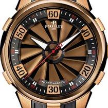 Perrelet Turbine XL 18K Rose Gold Men's Watch