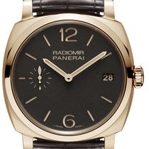 Panerai Radiomir 1940 3 days Oro Rosso 18K Rose Gold Men's...