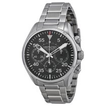 Hamilton Men's H64666135 Khaki Aviation Pilot Watch