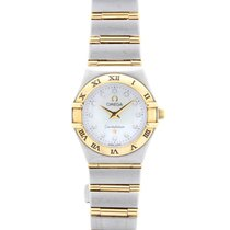 Omega Ladies Constellation Mini 18ct Yellow Gold & Steel...
