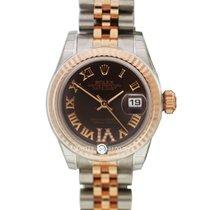 勞力士 (Rolex) 179171 Datejust 26 Choco VI Diam Dial Jub Brac SS/RG