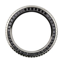 Rolex GMT-Master II Black Baguette Cut Precious Stones Custom...