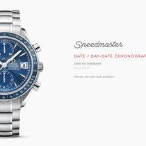Omega Speedmaster Date Chronograph Blue mit Garantie