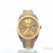 Rolex Datejust 41 Edelstahl Gelbgold 126333 Champagner Jubile