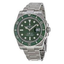 Rolex 116610lv  submariner hulk Green on green ceramic