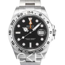 勞力士 (Rolex) Explorer II Black/Steel Ø42 mm - 216570