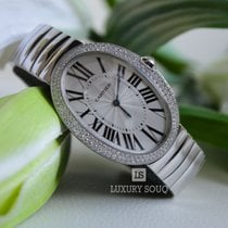 Cartier CLICK IMAGE TO ENLARGE Cartier Baignoire Silver Dial...