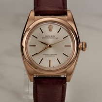 Rolex Oyster Bubble Back 14kt Rosegold / Rotgold / Ref. 3131