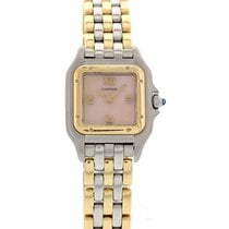 Cartier Panthere 18k Yellow Gold & Stainless Steel 1120...