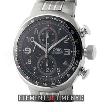 Oris TT3 Motors Chronograph Titanium Carbon Dial 43mm