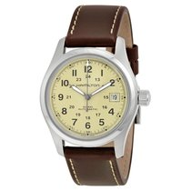 Hamilton Men's H70455523 Khaki Field GMT Automatic