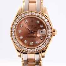Rolex Pearlmaster Tridor with Diamonds Ref.69298