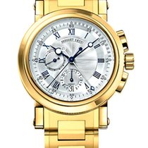 Breguet Brequet Marine 5827 18K Yellow Gold Men's Watch