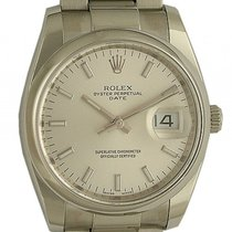 Rolex Oyster Perpetual Date 34mm Stahl Ref. 115200