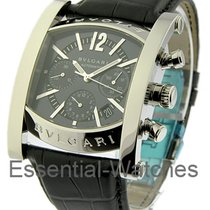 Bulgari AA 48 S CH  Assioma Chronograph in Steel - on Black...