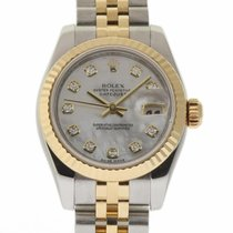 Rolex Lady-Datejust 18K Gold Diamonds Automatic