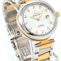 Omega De Ville Ladymatic 18k Yellow Gold & Steel 34mm -...